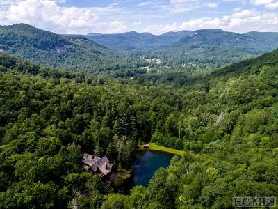 Cashiers, Glenville, Sapphire, Highlands, Scaly Mountain Single Family Home For Sale: 655, 657 Nix Mountain Road