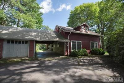 Cashiers, Glenville, Sapphire, Highlands, Scaly Mountain Single Family Home For Sale: 852 Dillard Road