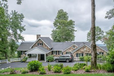 Cashiers, Glenville, Sapphire, Highlands, Scaly Mountain Single Family Home For Sale: 4 Brushy Face Road