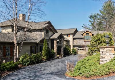 Sapphire Single Family Home For Sale: 381 Round Top Mountain Road