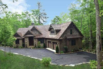 Cashiers, Glenville, Sapphire, Highlands, Scaly Mountain Single Family Home For Sale: 121 Fly Fishing Lane