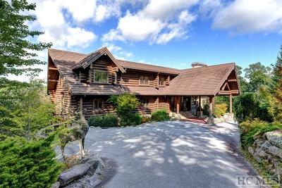Cashiers, Glenville, Sapphire, Highlands, Scaly Mountain Single Family Home For Sale: 336 Worley Road