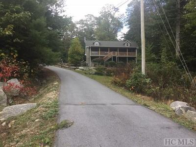 Cashiers, Glenville, Sapphire, Highlands, Scaly Mountain Single Family Home For Sale: 128 Hawks View