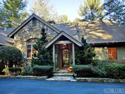 Sapphire Single Family Home For Sale: 577 Winding Creek Road