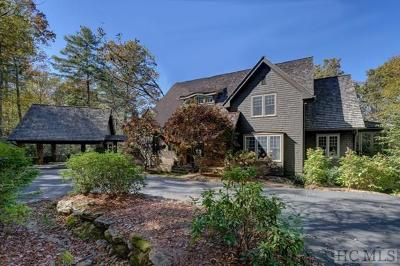 Cashiers, Glenville, Sapphire, Highlands, Scaly Mountain Single Family Home For Sale: 134 Whisper Fade Road