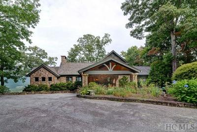 Cashiers, Glenville, Sapphire, Highlands, Scaly Mountain Single Family Home For Sale: 95 Cliffmont Road