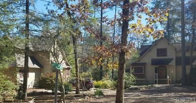 Cashiers Single Family Home For Sale: 11 & 15 Elk Cove Road