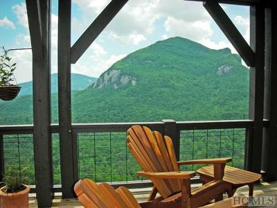 Cashiers, Glenville, Sapphire, Highlands, Scaly Mountain Single Family Home For Sale: 61 High Cliffs Road