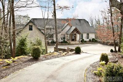 Cashiers, Glenville, Sapphire, Highlands, Scaly Mountain Single Family Home For Sale: 493 Split Rail Row