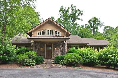 Cashiers Single Family Home For Sale: 23 Wild Iris Trail