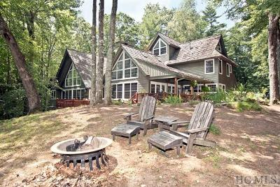 Cashiers, Glenville, Sapphire, Highlands, Scaly Mountain Single Family Home For Sale: 105 Old Cove Road