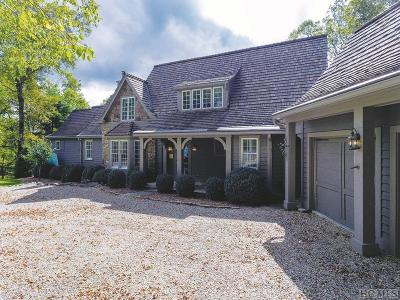 Cashiers, Glenville, Sapphire, Highlands, Scaly Mountain Single Family Home For Sale: 945 Brushy Face Road