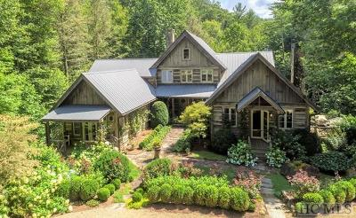 Cashiers, Glenville, Sapphire, Highlands, Scaly Mountain Single Family Home For Sale: 261 Horse Barn Road