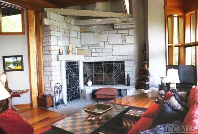 Cashiers, Glenville, Sapphire, Highlands, Scaly Mountain Single Family Home For Sale: 156 Devils Courthouse View