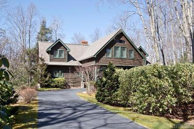 Cullasaja Club Single Family Home For Sale: 290 Garnet Rock Trail