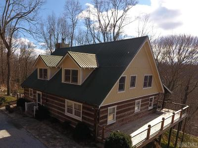 Scaly Mountain Single Family Home For Sale: 1536 Buck Knob Road