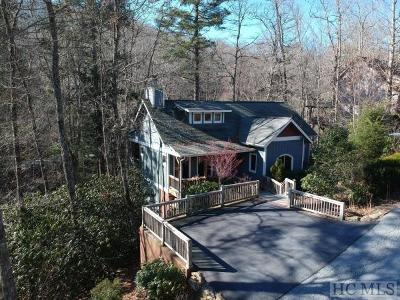Cashiers Single Family Home For Sale: 111 Chapel Hill Road