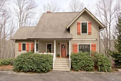 Cashiers Single Family Home For Sale: 768 Squirrel Hunting Road