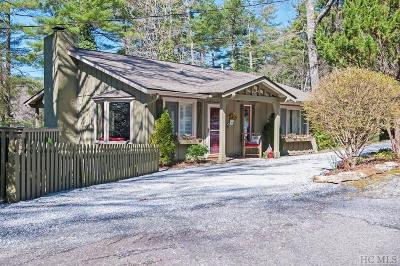 Highlands Single Family Home For Sale: 223 Sequoyah Drive