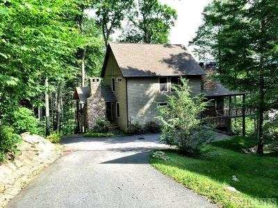 Cashiers Single Family Home For Sale: 26 Rendezvous Ridge Road