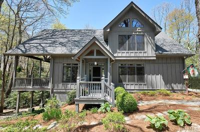 Lake Toxaway Single Family Home For Sale: 597 Seminole Way