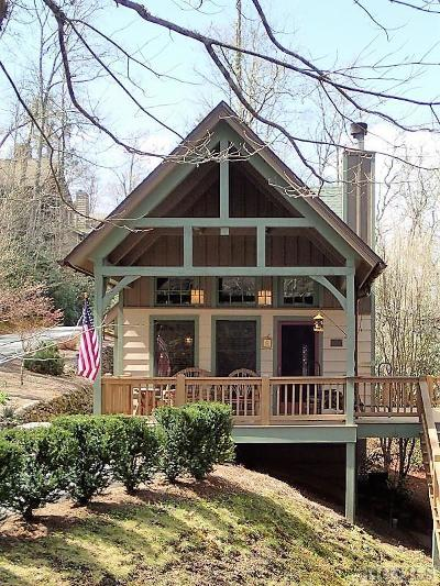Wildcat Cliffs Cc, Trillium High, Trillium Links, Trillium Place, Highlands Falls Cc, Highlands Cc, Wade Hampton, Cullasaja Club, Mountain Top - Franklin Single Family Home For Sale: 81 Winsome Way