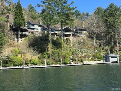Lake Toxaway Single Family Home For Sale: 163 S Eastshore Drive