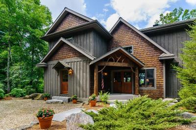 Lake Toxaway Single Family Home For Sale: 536 Hawk Mountain Road