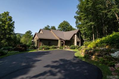 Cashiers Single Family Home For Sale: 992 Found Forest Road