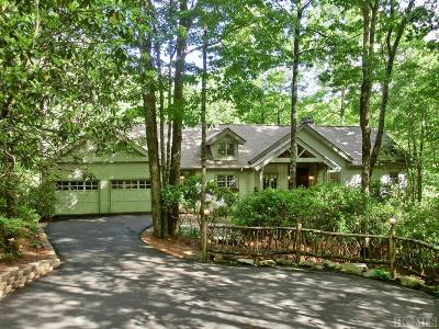 Sapphire Single Family Home For Sale: 605 Winding Creek Road