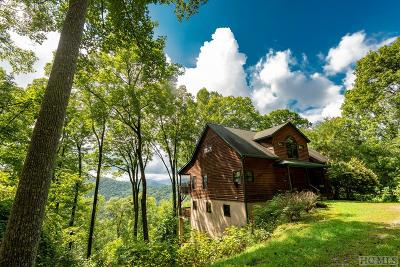 Scaly Mountain Single Family Home For Sale: 382 Hurrah Ridge