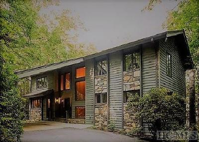 Lake Toxaway Single Family Home For Sale: 271 North Club Blvd