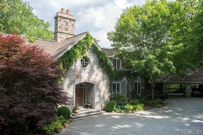 Wade Hampton Single Family Home For Sale: 195 Sassafras