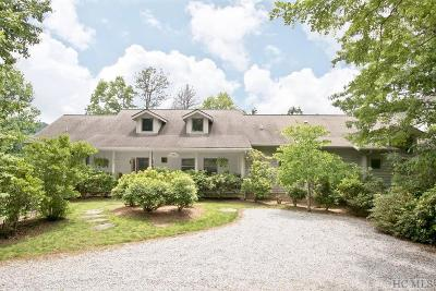 Scaly Mountain Single Family Home For Sale: 675 Falls Road