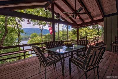 Lake Toxaway Single Family Home For Sale: 1133 Cold Mountain Road