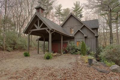 Lake Toxaway Single Family Home For Sale: 539 Seminole Way