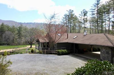 Cashiers Single Family Home For Sale: 569 Bull Pen Road