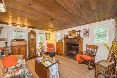 Cashiers Single Family Home For Sale: 1883 Norton Road