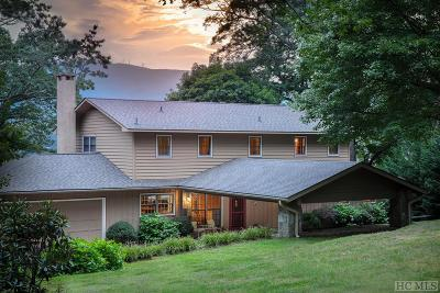 Lake Toxaway Single Family Home For Sale: 96 Windward Point