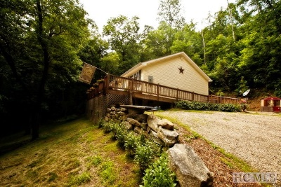 Scaly Mountain Single Family Home For Sale: 140 Autumn Valley Lane
