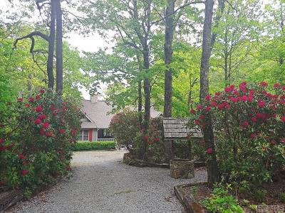 Lake Toxaway Single Family Home For Sale: 1625 Toxaway Drive