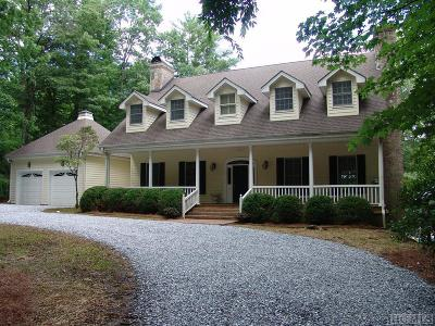 Lake Toxaway Single Family Home For Sale: 814 North East Shore Drive