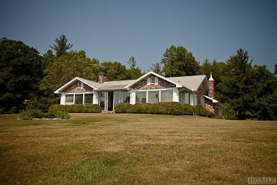 Highlands Single Family Home For Sale: 449 Owl Gap Road