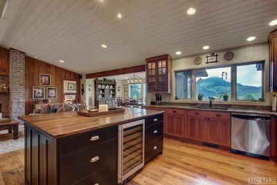 Highlands Single Family Home For Sale: 1935 Whiteside Cove Road