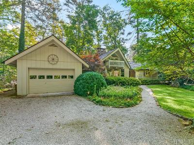 Cashiers Single Family Home For Sale: 222 Heaton Forest Road