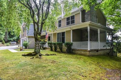 Cashiers Single Family Home For Sale: 237 Old Ford Road