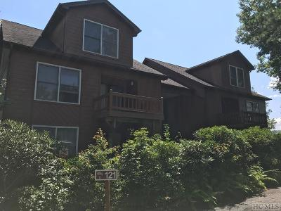 Lake Toxaway Condo/Townhouse For Sale: 121 Toxaway Views Drive #501