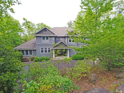 Lake Toxaway Single Family Home For Sale: 218 Red Bird Circle