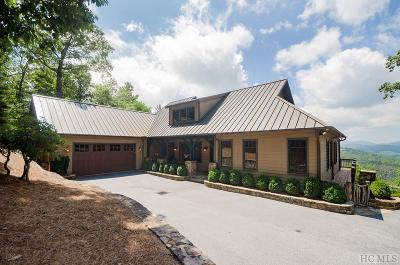 Cashiers Single Family Home For Sale: 340 East Ridge Road