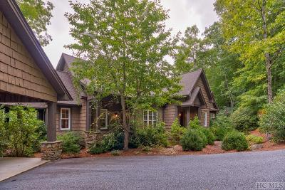 Cashiers Single Family Home For Sale: 52 Rebels Rest Lane